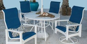 Windward Brand Marine Grade Polymer Tables
