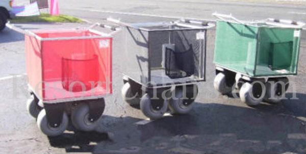beach utility custom wheeleez cart