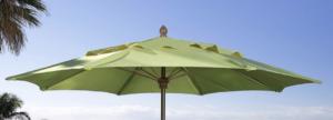 Fiberbuilt Brand Push Open Market Umbrella