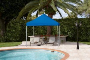 resort pop up tent